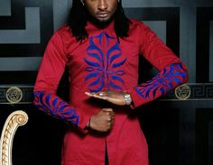 African Clothing for Men Mens African Suit by AfricaBlooms