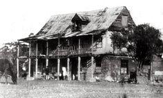 Jonathan Warner's house in 1926 at Warners Bay