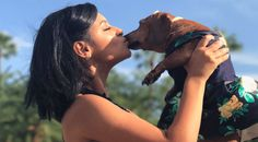 Florida Teen Made A Matching Prom Dress For Her Dachshund