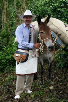 Juan Valdez-Café de Colombia Cafe Juan Valdez, Coffee Design, Cowboy Hats, Horses, Santa, Animals, Places, Image, Kids