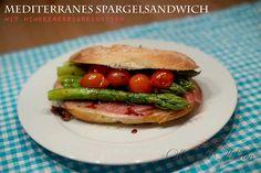 Mediterranes Spargelsandwich Tacos, Mexican, Spring, Ethnic Recipes, Food, Asparagus, Raspberries, Essen, Meals