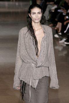 Haider Ackermann Spring 2007..love lace top