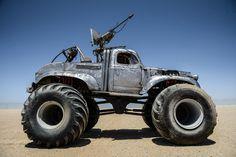 Every KillerCar inMad Max: Fury Road Explained - Rictus Erectus's Bigfoot