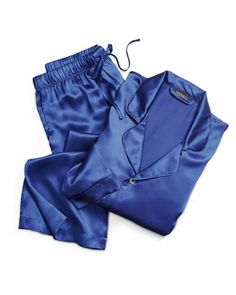 The Ken Downing Gift Collection - Men's Silk Two-Piece Pajama Sets by NM EXCLUSIVE at Neiman Marcus.