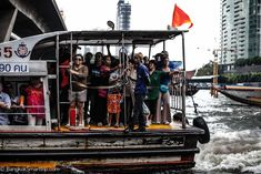 Sathorn Pier How to use the Cross River Boat Bangkok Travel, Bangkok Hotel, Asia, Boat, River, Dinghy, Boats, Rivers