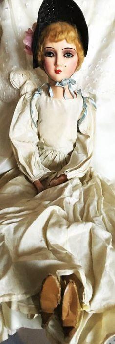"""28"""" Keeneye WKS 1920s Boudoir Doll by Victor Keney - AMAZING, BEAUTIFUL/R #Keeneye"""