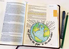 Bible Journaling by Bible Verse Art, Prayer Verses, Scripture Study, Mark Bible, Jesus Bible, Faith Bible, Bible Doodling, Bible Notes, Canvas Quotes