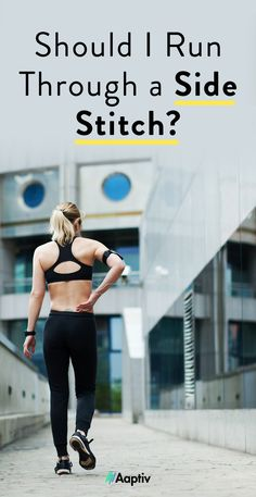 Nothing stops runners in their tracks like a side stitch. Experts weigh in on running with side stitches and how to prevent them. Side Stitch Running, My Side, Running Man, Fitness, Outdoor, Hall Runner, Outdoors, Outdoor Games, Excercise