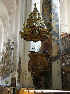 Luckau - Saint Nicholas Church, pulpit