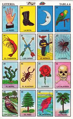 Las Mejores 13 Ideas De Cartas De Loteria Cartas De Loteria Lotería Loteria Mexicana Cartas