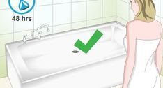 How to Clean Fiberglass Bathroom Surfaces. You might be a little lost when it comes to properly cleaning your fiberglass shower or tub, but you certainly aren't alone. Wear and tear create stains and scratches on your bathroom surfaces,. How To Remove Caulking, Residential Plumbing, Fiberglass Shower, Faucet Handles, Fire Extinguisher, Bathtub, Stains, Cleaning, Bathroom