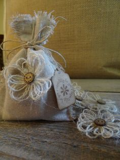 Wedding Favor Bags Bridal Shower Handmade by DaisyDazeDesign, $35.50