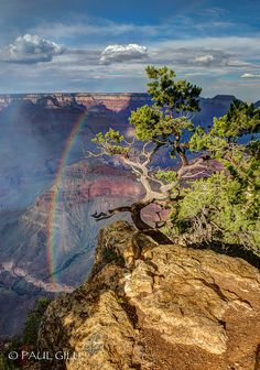 Mather Point, Grand Canyon National Park; photo by Paul Gill