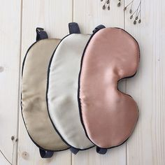 Naturally dyed organic sleep masks by LaAquarelle on Etsy