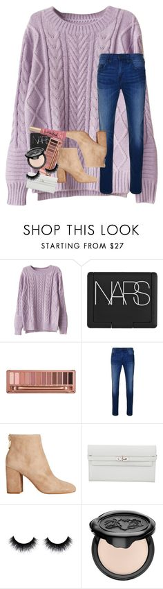 """""""just watched 10 things i hate about you😢"""" by rxindrops-on-roses ❤ liked on Polyvore featuring NARS Cosmetics, Urban Decay, True Religion, Kenneth Cole, Hermès, Kat Von D and Too Faced Cosmetics"""