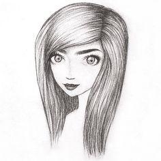 Nathalie's art Art Inspo, Drawings, Sketch, Portrait, Drawing, Resim, Paintings, Doodle