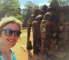 Nothing like double time with the elephants - reflection and selfie action! #siemreap #Cambodia #anchorwat #southeastasia #Buddhism  #travelblog  #trippinwithmolly #travel #trip #wander #wanderlust #explore #adventure #dametraveler #beautifuldestinations #igtravel #instapassport #instatravel  #Globetrotter #jetset #ilovetravel #instatraveling #travelersofinstagram #holiday #instavacation #travelgram #traveltheworld #travelersofinstagram #travellive #temples by trippinwithmoll