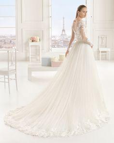 EVENTO vestido de novia Rosa Clará Two