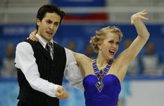 Canada's Kaitlyn Weaver and Andrew Poje compete during the Figure Skating Ice Dance Short Dance Program at the Sochi 2014 Winter Olympics