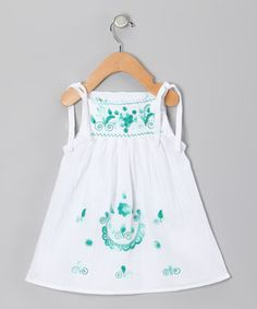 Another great find on #zulily! Emerald Lorena Dress - Infant, Toddler & Girls by Little Cotton Dress #zulilyfinds