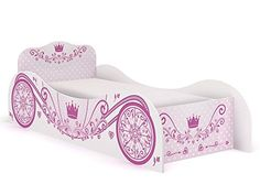 Princess Carriage Bed Frame Girls / Kids 3ft Single Disney, Pink, http://www.amazon.co.uk/dp/B010SDDUVE/ref=cm_sw_r_pi_awdl_dzEQwbKKRAEX6
