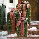 modern outdoor christmas decorations - Google Search