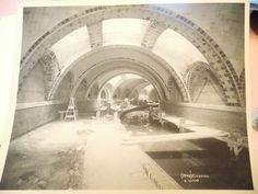 ORIG 1903 NYC new York City City Hall Station subway construction platinum photo