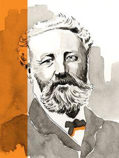 Jules Verne sur la Bibliothèque Numérique #TV5MONDE