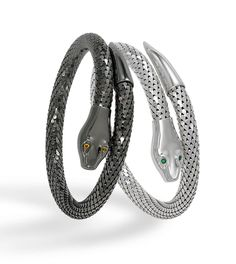 Whiting & Davis snake bracelets for 2013