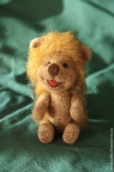 Ёжик Стасик - коричневый,Ёжик,ежик,авторская игрушка,веселый ежик,подарок