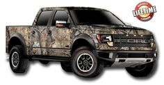 Camo Ford truck?! What!!! I want one some day!!!