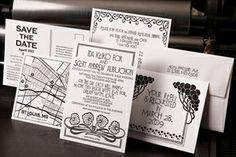 The Firecracker Press - Invitations - Saint Louis, MO - WeddingWire Art Deco Invitations, Wedding Invitations, Invites, True Love, My Love, Firecracker, Paper Goods, Letterpress, St Louis