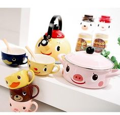 If my cookware looked like this I might even cook...