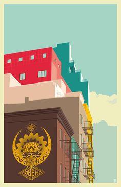 Remko Gap Heemskerk, una visión pop art de Nueva York