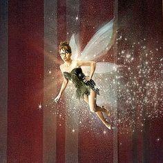 Annie Lebovitz-Disney Dream Series-Peter Pan-Tina Fey as Tinkerbell
