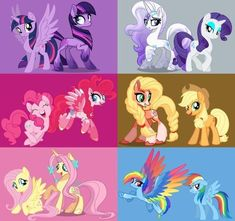 If you look closely, Fluttershy's gen 5 look has the body and head shap of Princess Cadence #Lazy