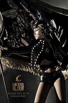 2NE1 CL Reveals Teaser Photo for The Baddest Female