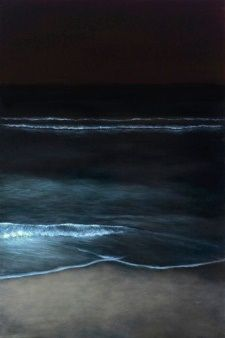 Night Waves   The Mirror Obscura--a poem