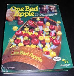 Vintage One Bad Apple Game - Pressman (1988) - Complete - Vintage Game