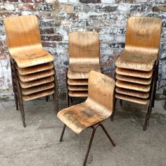 Outdoor Chairs, Dining Chairs, Outdoor Furniture, Outdoor Decor, School Chairs, Kid Spaces, Vintage Children, Simple Designs, Home Kitchens