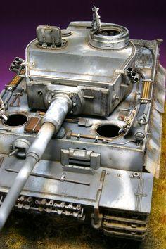 German Panzer VI Tiger Model