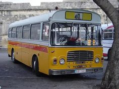 Old bus at Malta's islands                                                                                                                                                                                 Mais