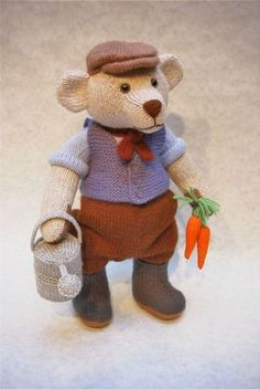 Herbert The Gardener pattern from Alan Dart, £2.50