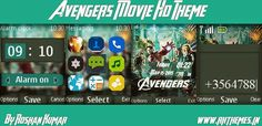 Avengers Movie HD Theme For Nokia C1-01, C1-02, C2-00, 107, 108, 109, 110, 111, 112, 113, 114, 2690 & 128×160 Devices ~ Rkthemes   Download Free Themes For Nokia and Android Phones