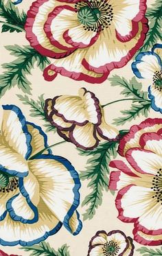FLORAL PATTERN. NO CREDITS PROVIDED