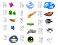 Brushes settings for Paint tool SAI by ryky.deviantart.com on @DeviantArt