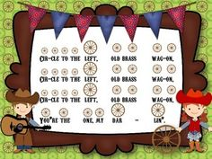 Old Brass Wagon- slides for preparing, presenting and practicing sixteenth notes - TeachersPayTeachers.com #musicedchat #kodaly