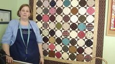 Make an Amalie Snowball Quilt Using Charm Squares
