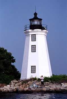 Fayerweather Island Black Rock Harbor Lighthouse