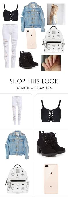"""""""💜🔥✨"""" by dasminxoxoquinn on Polyvore featuring Red Herring and MCM"""